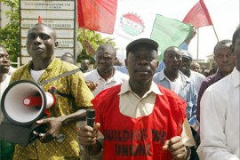 The President of the Nigeria Labour Congress Adams Oshiomhole