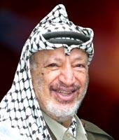 ياسر عرفات رئيس دولة فلسطين 1