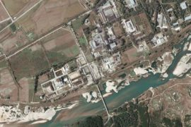 A digitalglobe satellite image shows a nuclear facility in Yongbyon, North Korea September 29, 2004. North Korea has suspended