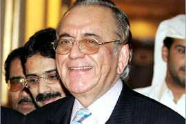 AFP  – Pakistani Foreign Minister Khurshid Kasuri arrives in Qatar at Doha airport for an official visit to the Gulf emirate, 31 October 2005. The Pakistani official is on a Gulf tour to seek