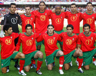تشكيلة منتخب البرتغال لمونديال ألمانيا 2006
