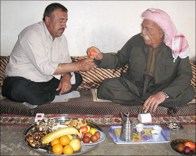 السرصال عيد رأس السنة عند الطائفة اليزيدية