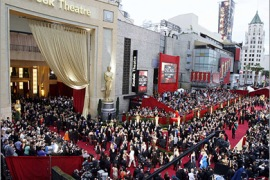 REUTERS/ An overall view of the red carpet arrivals at the 81st Academy Awards in Hollywood, California February 22, 2009.  REUTERS/Mario Anzuoni  (UNITED STATES) (OSCARS-