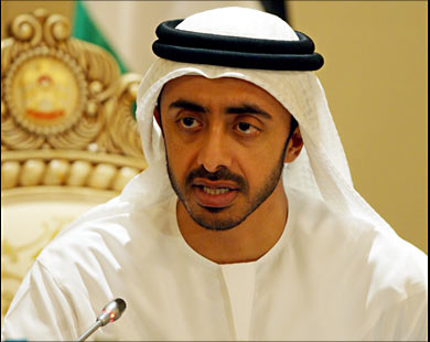 من هو وزير الخارجية الاماراتي