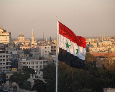 آفاق جديدة للعلم السوري
