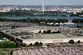 KBS01 – Washington, District of Columbia, UNITED STATES : (FILES) This undated US Department of Defense (DoD) image shows an aerial view of the Pentagon in Washington