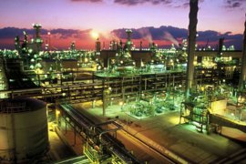 The Qatargas Liquefied Natural Gas plant is seen in Ras Laffan, Qatar, in this undated handout picture.