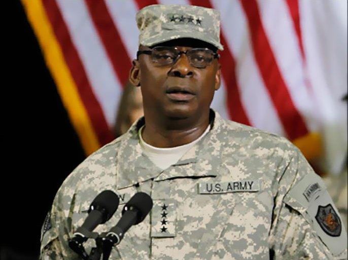 الجنرال أوستن خدم في الجيش الأميركي أكثر من 40 عاما، وتولى عدة مسؤوليات قيادية (رويترز)