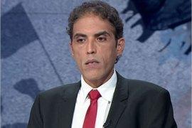 الكاتب والناشط السياسي والمتحدث باسم جبهة الإنقاذ سابقا خالد داود (الجزيرة)