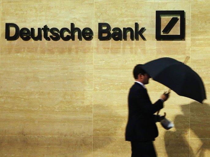 بنك تايوان المركزي حظر على دويتشه بنك تداول العقود الآجلة للدولار التايواني (رويترز)