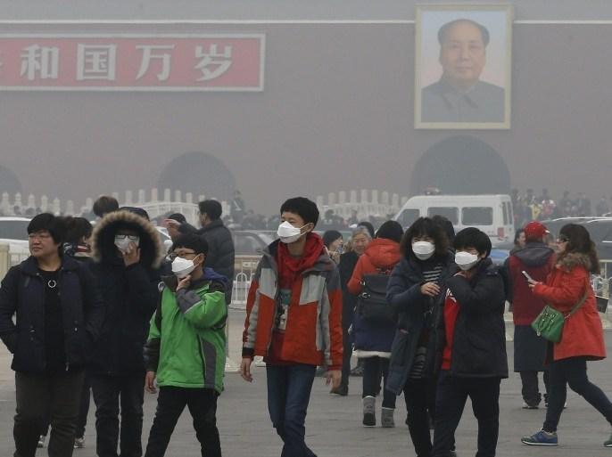 جهود صينية للحد من تلوث الهواء