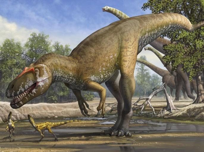 الكويكب الذي أفنى الديناصورات تسبب بعقود من الشتاء