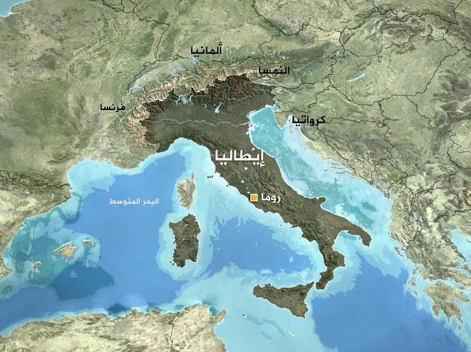 خريطة إيطاليا