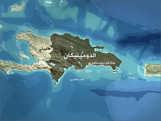 خريطة الدومينيكان