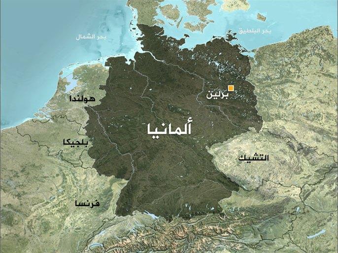 خريطة ألمانيا