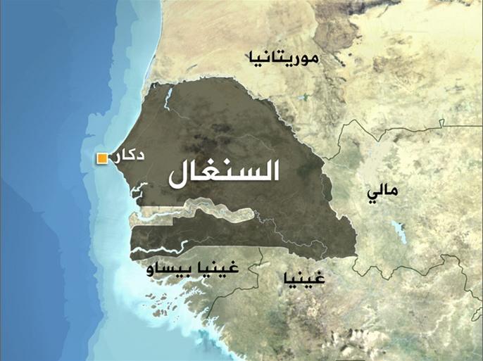 خريطة السنغال