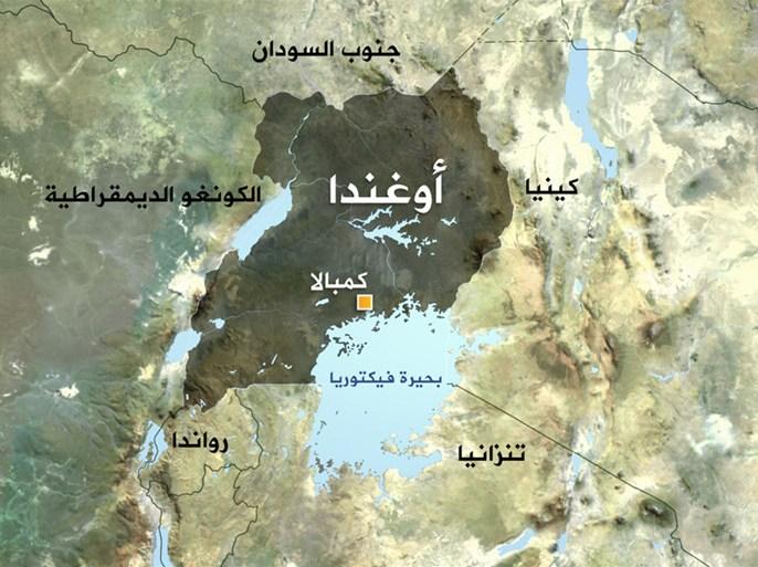 خريطة أوغندا