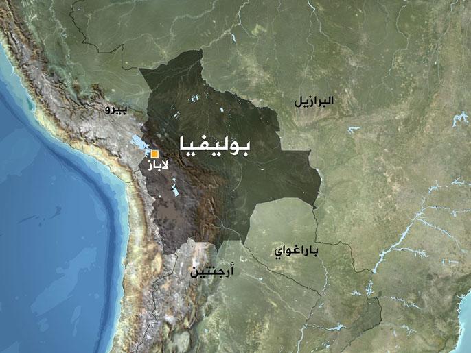 خريطة بوليفيا الرائعة
