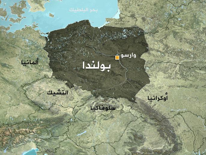 خريطة بولندا