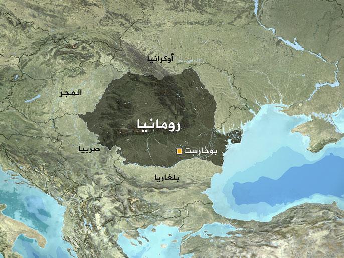 خريطة رومانيا