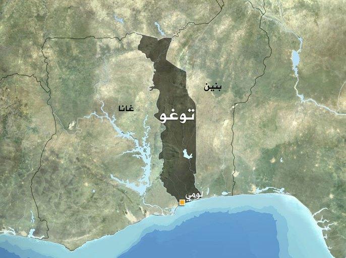 خريطة توغو