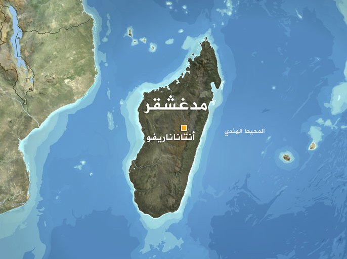 خريطة مدغشقر