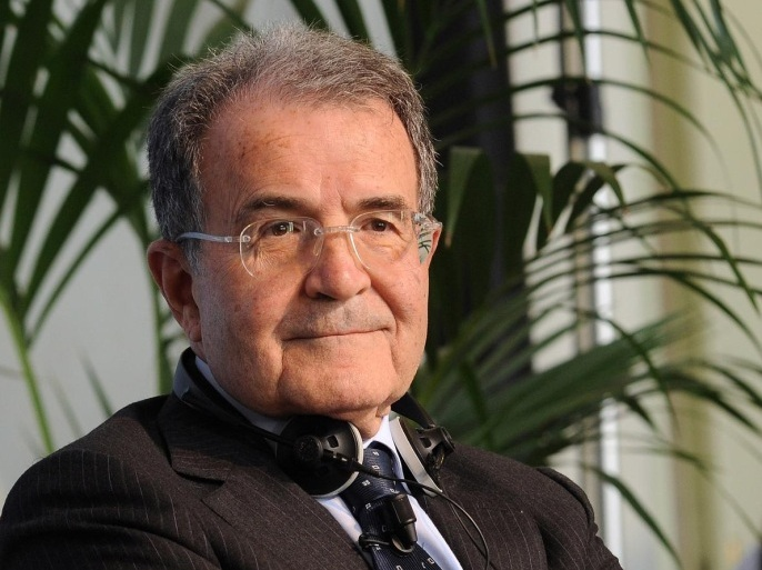 MILAN, ITALY – MAY 28: Romano Prodi, former Italian Prime Minister (1996-1998) and President of the European Commission (1999-2004) attends the 'The Future of Europe after elections' conference on May 28, 2014 in Milan, Italy. The conference, which follows the European elections, will host former leaders to reflect on the future of Europe.