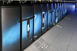 The Oak Ridge National Laboratory's Titan supercomputer, seen here in an undated handout picture, has been named the world's fastest supercomputer in the latest TOP500 computer ranking list. Titan is a Cray XK7 system which achieved 17.59 Petaflops/second (quadrillions of calculations per second) according to the TOP500 listing. Titan unseated Lawrence Livermore National Laboratory's Sequoia supercomputer, which moved into second place.