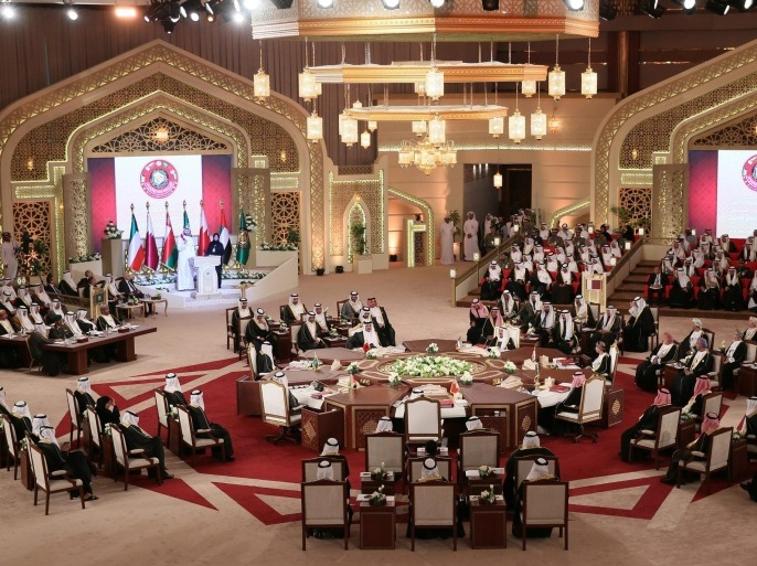 A general view for the annual summit of Gulf Cooperation Council (GCC) in Doha, Qatar, 09 December 2014. Doha is hosting the two-day GCC summit following a diplomatic row that marred relations between Qatar on one side and Saudi Arabia, the United Arab Emirates and Bahrain on the other. The three Gulf states announced in November they are sending back their ambassadors to Qatar, eight months after withdrawing them in a spat over the emirate's support of the Muslim Brotherhood.