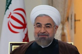 A handout picture made available by the presidential official website shows Iranian president Hassan Rowhani during a live interview with Iran's state TV (IRIB), in Tehran, Iran, 13 October 2014. Rowhani hoped that his country will reach the final nuclear deal over its nuclear program with world powers. Iran denies Western allegations that it is seeking to develop the capability to produce nuclear weapons and has not offered new measures on clarifying the remaining topics.  EPA/HO