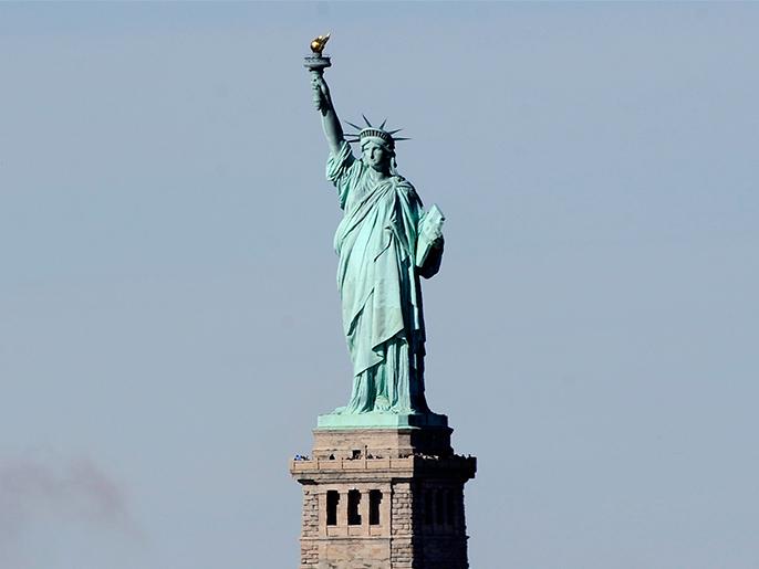 تمثال الحرية هدية فرنسا لأميركا