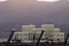 (FILE) A file photograph dated 18 November 2005 shows the nuclear enrichment plant of Natanz in central Iran. Media reports state on 12 January 2014 that an agreement to freeze Iran's nuclear programme will come into force on 20 January 2014.  EPA/ABEDIN TAHERKENAREH *** Local Caption *** 50721061