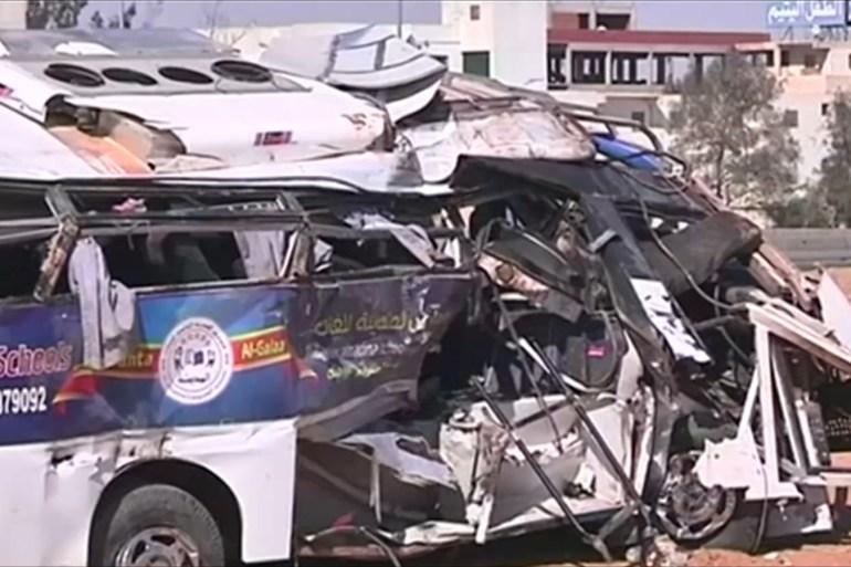 الحكومة المصرية تعهدت بمحاسبة المتسببين في الحوادث المرورية القاتلة (الجزيرة)