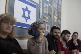 NETAYA, ISRAEL – MARCH 12: Newly arrived immigrants from France study Hebrew at Ulpan on March 12, 2015 in Netanya, Israel. The recent wave of anti-Semetism that has swept over France and the string of terror attacks in Paris are expected to lead to a record-breaking number of French jews that will emigrate to Israel. In 2014 about 7000  Jews moved from France to Israel.