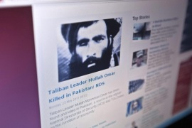 The Tolonews website runs a story on its front page reporting about the news of the death of Taliban leader Mullah Mohammad Omar in Kabulin this May 23, 2011, file photo. The White House received a letter last year purported to come directly from Mullah Omar, the reclusive leader of the Taliban, asking the United States to deliver militant prisoners whose transfer is now at the heart of the Obama administration's bid to broker peace in Afghanistan. The unusual message kicked off a debate within the administration about whether it was truly authored by the mysterious one-eyed preacher believed to be directing the Taliban from hiding in Pakistan — and its meaning for U.S. efforts to forge a negotiated end to America's longest war.