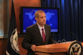 WASHINGTON, DC – JUNE 29:  US State Department spokesperson Mark Toner holds a press statement in Washington on June 29, 2015.