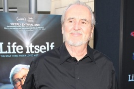 HOLLYWOOD, CA – JUNE 26:  Wes Craven and his wife attend the Premiere of Magnolia Pictures' 'Life Itself' at the ArcLight Hollywood on June 26, 2014 in Hollywood, California.