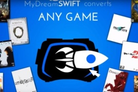 mydream swift converts any game into VR experience