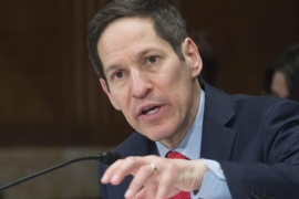 Thomas Frieden, director of the Centers for Disease Control and Prevention (CDC), appears before the US Senate Appropriations subcommittee hearing on the Zika virus and emerging health threats, on Capitol Hill in Washington, DC, USA, 11 February 2016. The US Centres for Disease Control and Prevention on has put its emergency operations centre on the highest level alert in response to the Zika virus. The CDC is moving to the highest level 1 alert amid a 'the need for an