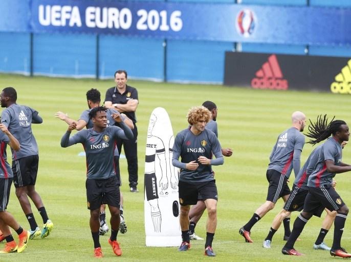 هازارد وفرمايلن يغيبان عن تدريبات منتخب بلجيكا