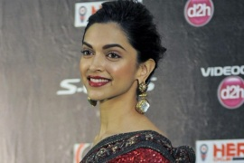 Indian actress Deepika Padukone arrives for the Indian International Film Academy Award (IIFA) in Kuala Lumpur, Malaysia, 07 June 2015. The 16th IIFA, often referred to as the Bollywood Oscars, celebrates the international nature of Indian cinema and takes place from 05 to 07 June.