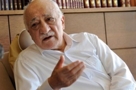 A handout picture made avaliable on 27 December 2013 provided by Zaman Daily newpspaper shows Fethullah Gulen, an Islamic opinion leader and founder of the Gulen movement, speaks during an interview in Pennsylvania, US 14 October 2013.  A 'state and democracy crisis' started 17 December 2013 after police raids in the high-level corruption investigation led to the arrests of 24 people, including the sons of three ministers and the chief executive of state-run Halkbank,