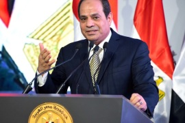 "Egyptian President Abdel Fattah al-Sisi speaks during the opening of the first and second phases of the housing project ""Long Live Egypt"", which focuses on development in the country's slums, at Al-Asmarat district in Al Mokattam area, east of Cairo, Egypt May 30, 2016 in this handout picture courtesy of the Egyptian Presidency. The Egyptian Presidency/Handout via REUTERS/File Photo ATTENTION EDITORS – THIS IMAGE WAS PROVIDED BY A THIRD PARTY. EDITORIAL USE ONLY"