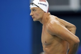إيقاف السباح الأميركي لوكتي عشرة أشهر
