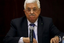 Palestinian President Mahmoud Abbas attends a meeting for the Central Council of the Palestinian Liberation Organization, in the West Bank city of Ramallah, March 19, 2015 file photo  REUTERS/Mohamad Torokman/File photo