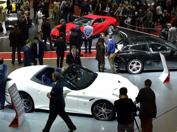 GENEVA, SWITZERLAND – MARCH 08:  A general view of atmosphere is seen during the 87th Geneva International Motor Show on March 8, 2017 in Geneva, Switzerland.  The International Motor Show showcase novelties of the car industry.  (Photo by Harold Cunningham/Getty Images)