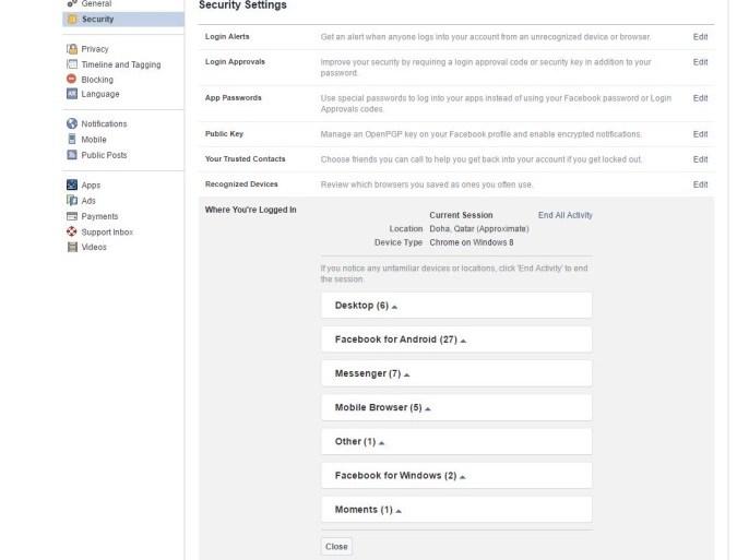 تسجيل الدخول عبر اسم المستخدم وكلمه المرور