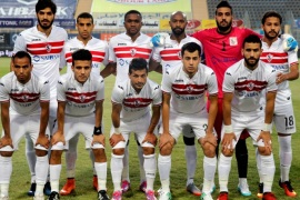 Football Soccer – Egyptian Premier League – El Zamalek v El Ismaily – Petro Sport Stadium, Cairo, Egypt – 3/5/17 – Players of El Zamalek pose before the game. REUTERS/Amr Abdallah Dalsh