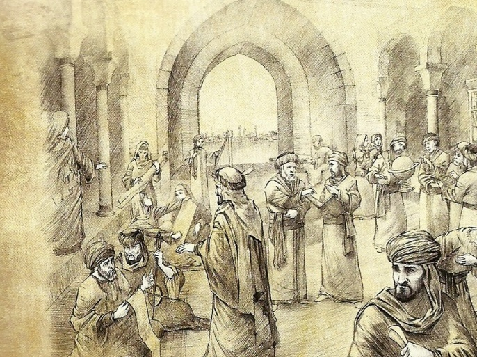 تقرير عن بيت الحكمة في بغداد