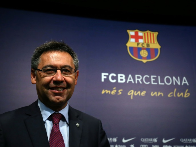 """الشرطة تدهم نادي برشلونة.. حقائق """"بارساغيت"""" تتكشف وبارتوميو أول المعتقلين"""